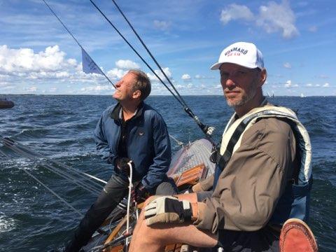 Rorsman Magnus S och storskotare Magnus W. Foto ©Joakim Beck-Friis